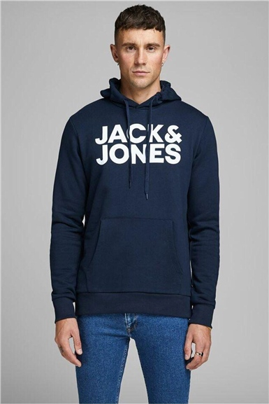 Jack & Jones Kapüşonlu Sweat Navy Blazer