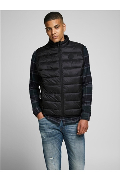 Jack & Jones Şişme Yelek Black